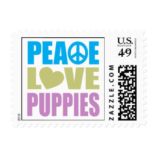 Perritos del amor de la paz envio