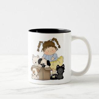 Perritos del amor tazas de café