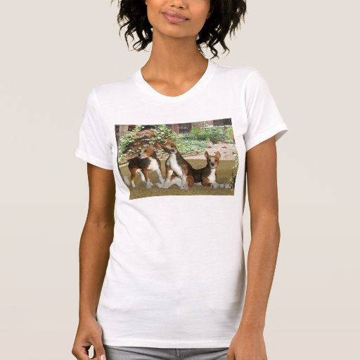 Perritos del beagle camiseta