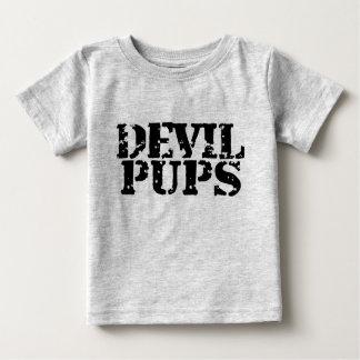 Perritos del diablo playera de bebé