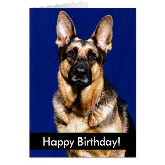 Perritos del feliz cumpleaños felicitaciones