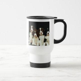 Perritos del perro de aguas de saltador inglés (2) taza de café