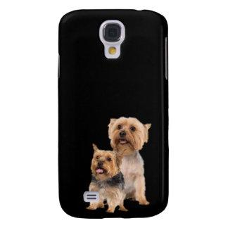 Perritos impresionantes de Terrier sedoso Funda Para Galaxy S4