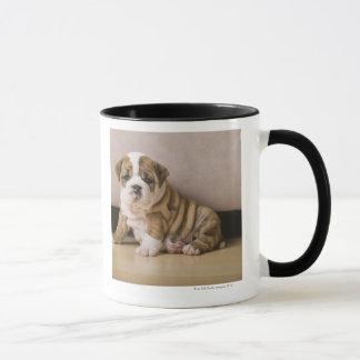 Perritos ingleses del dogo taza
