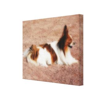 Perro #1 impresión en lona