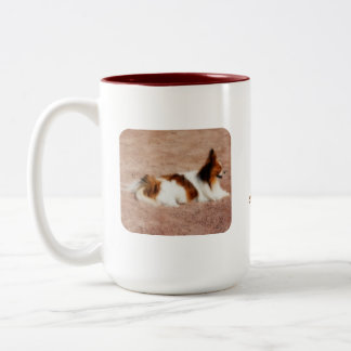 Perro #1 taza de dos tonos