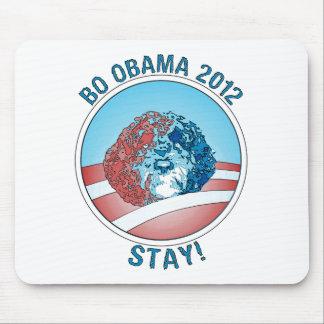 Perro 2012 de Favorable-BO Obama Alfombrillas De Ratón