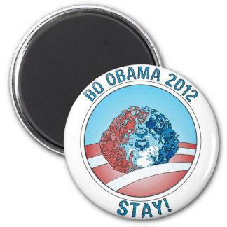 Perro 2012 de Favorable-BO Obama Imán Redondo 5 Cm