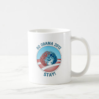 Perro 2012 de Favorable-BO Obama Tazas De Café
