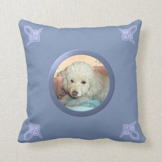 Perro adaptable u otro foto de la memoria del masc almohada