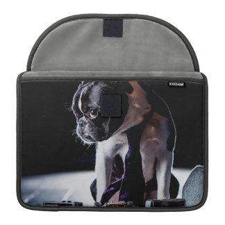 Perro aficionado del fotógrafo del dogo francés fundas macbook pro