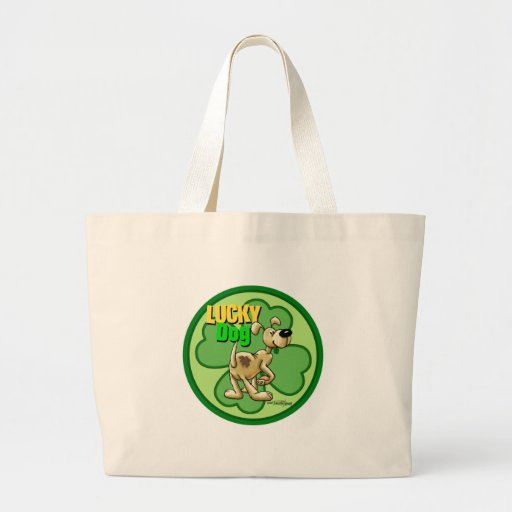 Perro afortunado - irlandés bolsas