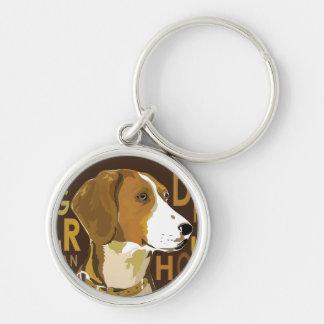 Perro alemán llavero personalizado