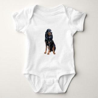 Perro americano del Coon - negro y moreno Camisas
