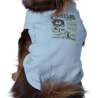 Perro animal del brownie de la película muda de 19 playera sin mangas para perro