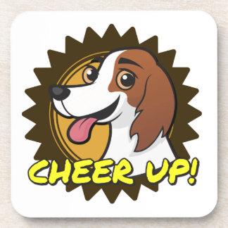 ¡Perro - anime para arriba! Posavasos De Bebidas