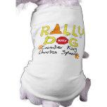 Perro arrogante de la reunión del perro de aguas d camisetas de mascota