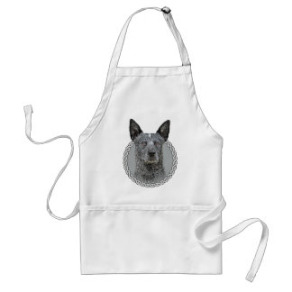 Perro australiano 001 del ganado delantal