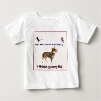 Perro australiano de la libertad del ganado remera