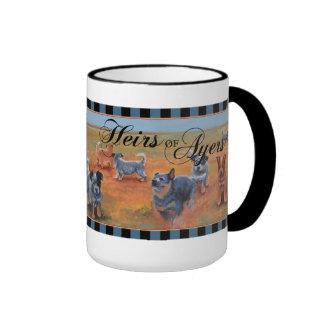 Perro australiano del ganado - herederos de Ayers Tazas