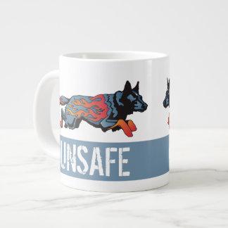 Perro australiano del ganado - inseguro a cualquie taza grande