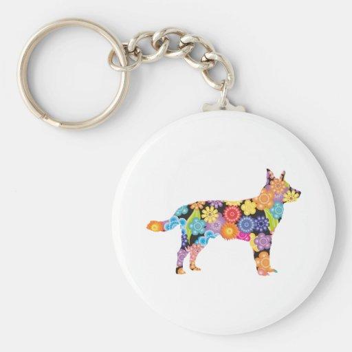 Perro australiano del ganado llaveros