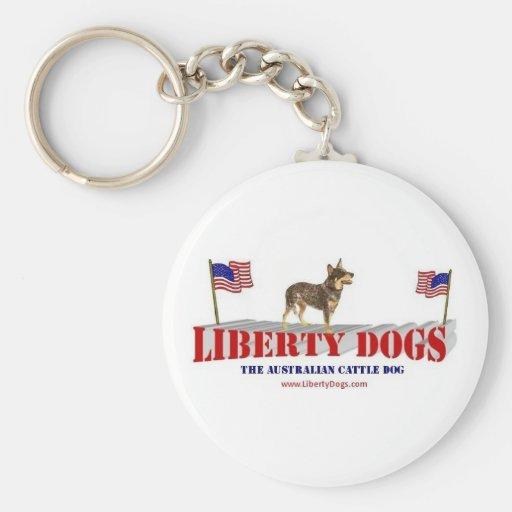 Perro australiano del ganado llaveros personalizados