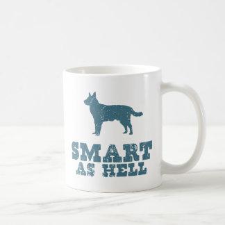 Perro australiano del ganado taza clásica