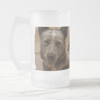 Perro australiano dulce del ganado taza