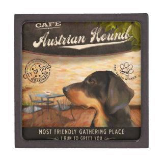 Perro austríaco de Café Caja De Regalo De Calidad