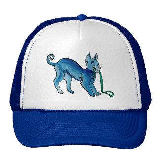 Perro azul céltico gorras de camionero