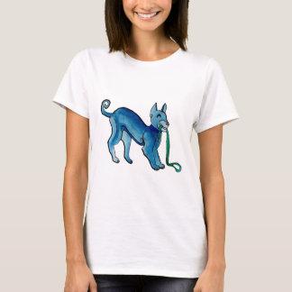 Perro azul céltico playera