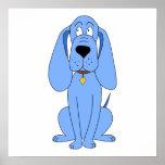 Perro azul. Perro Poster
