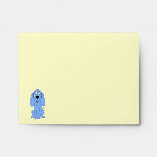 Perro azul. Perro Sobres