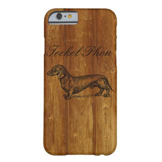 Perro basset Phon Funda Para iPhone 6 Barely There