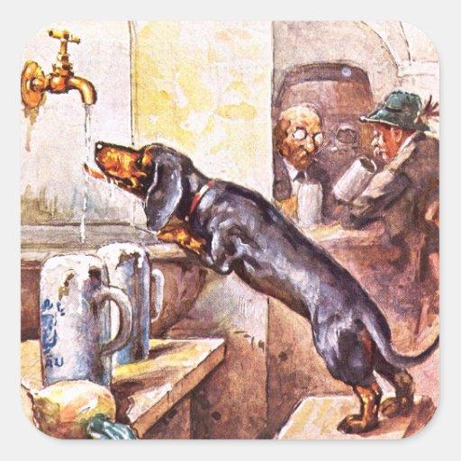 Perro bávaro pegatinas