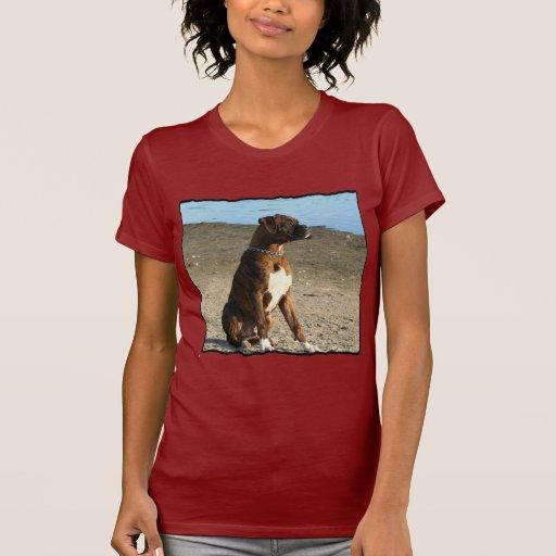 Perro Brindle del boxeador Camiseta