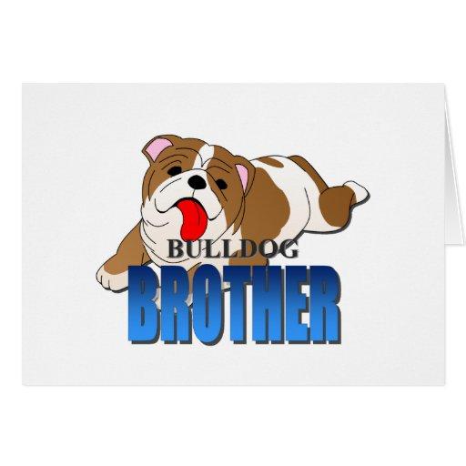 Perro Brother del dogo Tarjetas