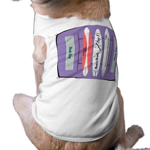 Perro-Caída 8 Snoggler de la luna de SheckShe* Camiseta De Mascota