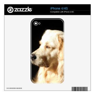 perro calcomanía para el iPhone 4