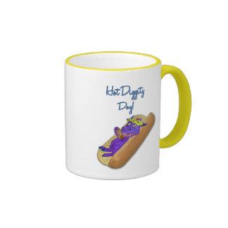 Perro caliente de Diggity Taza A Dos Colores