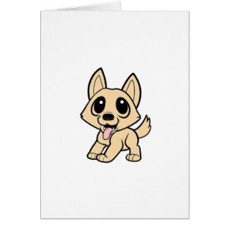 perro canaan cartoon.png tarjeta de felicitación