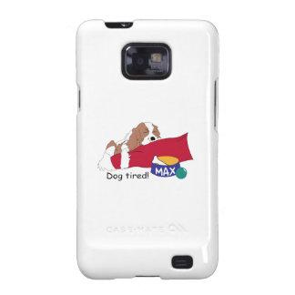 ¡Perro cansado Samsung Galaxy S2 Funda
