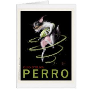 Perro Card