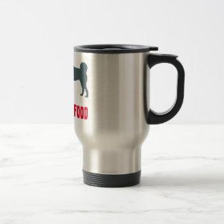 Perro carelio del oso taza de café