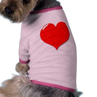 Perro cariñoso prenda mascota