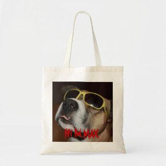 Perro casero del bolso del max bolsa tela barata