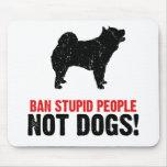 Perro chino de perro chino alfombrilla de raton