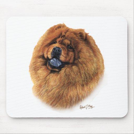 Perro chino de perro chino alfombrilla de ratones