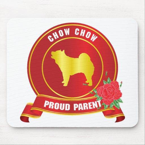 Perro chino de perro chino alfombrillas de raton